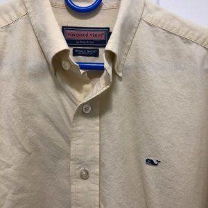 VINEYARD VINES Button Down Whale Logo Shirt